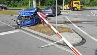 Verkehrsunfall in Dübendorf