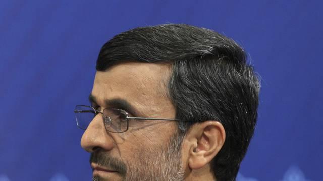 Düpiert: Der iranische Präsident Ahmadinedschad (Archiv)