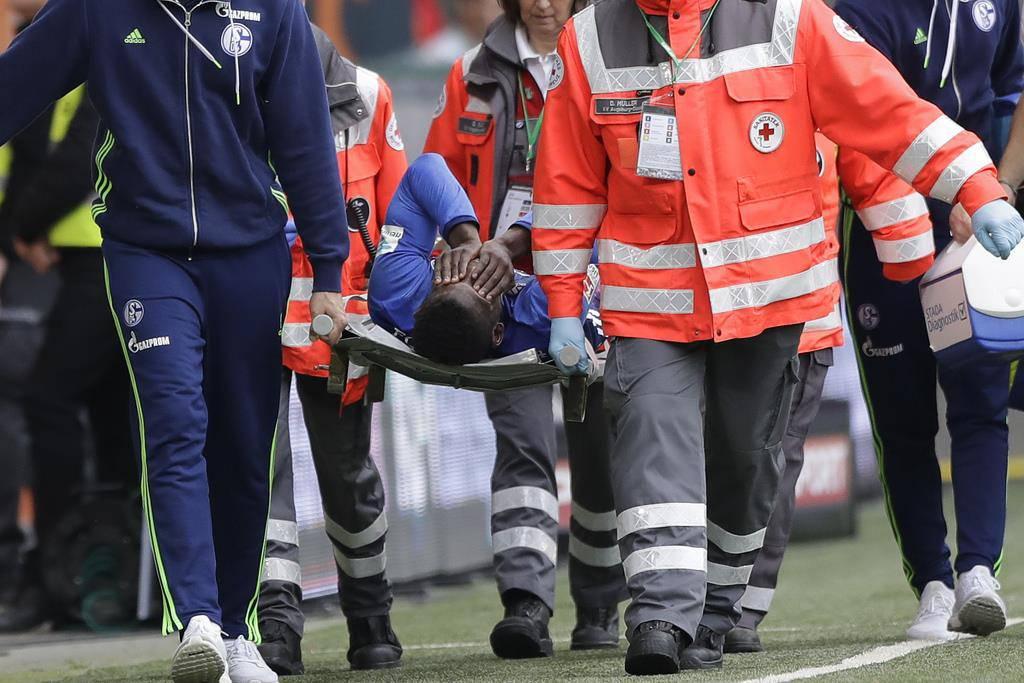 Embolo bei Schalke-Spiel verletzt (© Keystone)