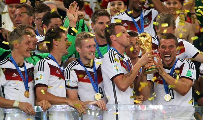 Die deutschen holen sich nach einem Kampf den vierten Stern