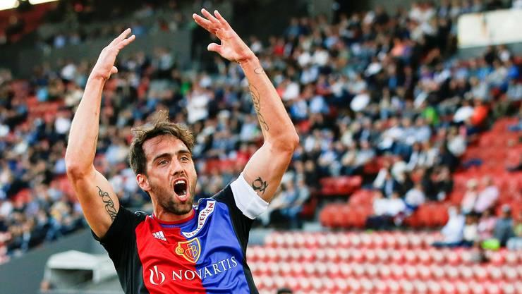 FCB-Captain Matías Delgado.