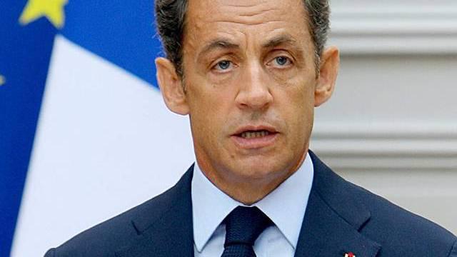 Nicolas Sarkozy wird scharf kritisiert (Archiv)