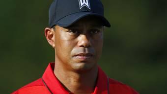 Der kummervolle Blick ist berechtigt: Kein Golf 2016 für Tiger Woods