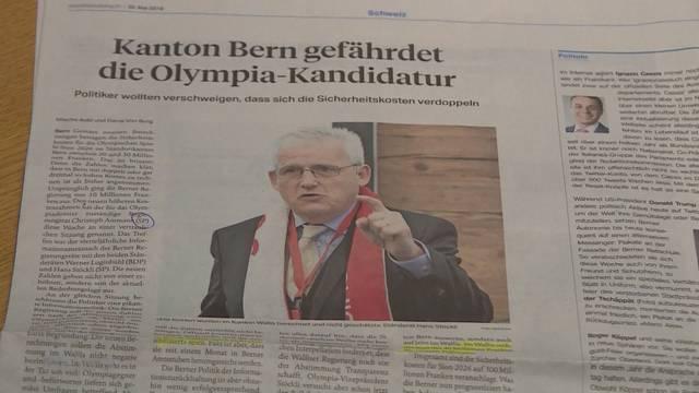 Fall Olympia: Ursula Marti, SP-Mitglied fordert Quellenangabe