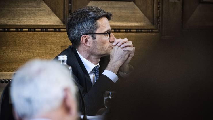 Gesundheitsdirektor Lukas Engelberger konnte das Parlament von der Spitalfusion überzeugen.