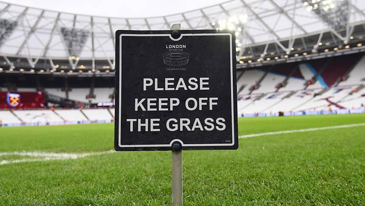 Der Rasen ist in der Premier League ab dem 17. Juni wieder frei