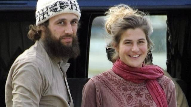 Die beiden Schweizer - hier in Islamabad - waren im März freigekommen (Archiv)