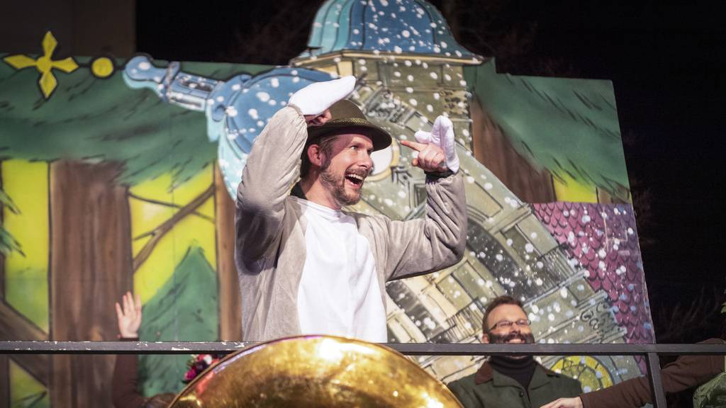 Musiker Marius Tschirky ist der neue Ehren-Föbü