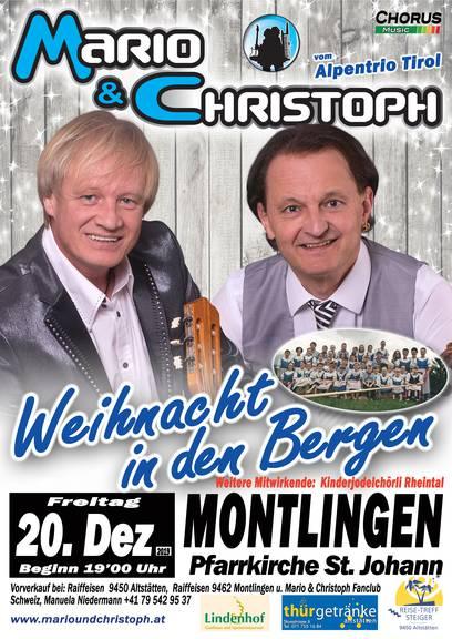 Mario & Christoph - Weihnacht in den Bergen