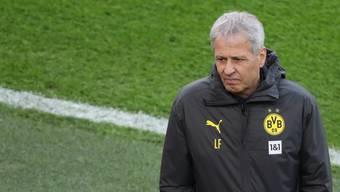 Lucien Favre führte Borussia Dortmund zweimal auf Platz 2 in der Bundesliga