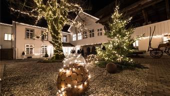Mit dem neuen Lichterglanz im Altersheim St. Katharinen wird eine alte Tradition wiederbelebt.