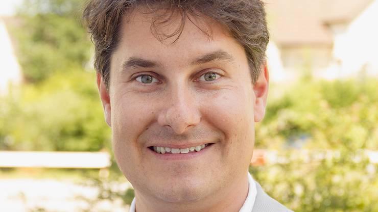 Thomas Schär (39, SP), Einwohnerrat Kandidat
