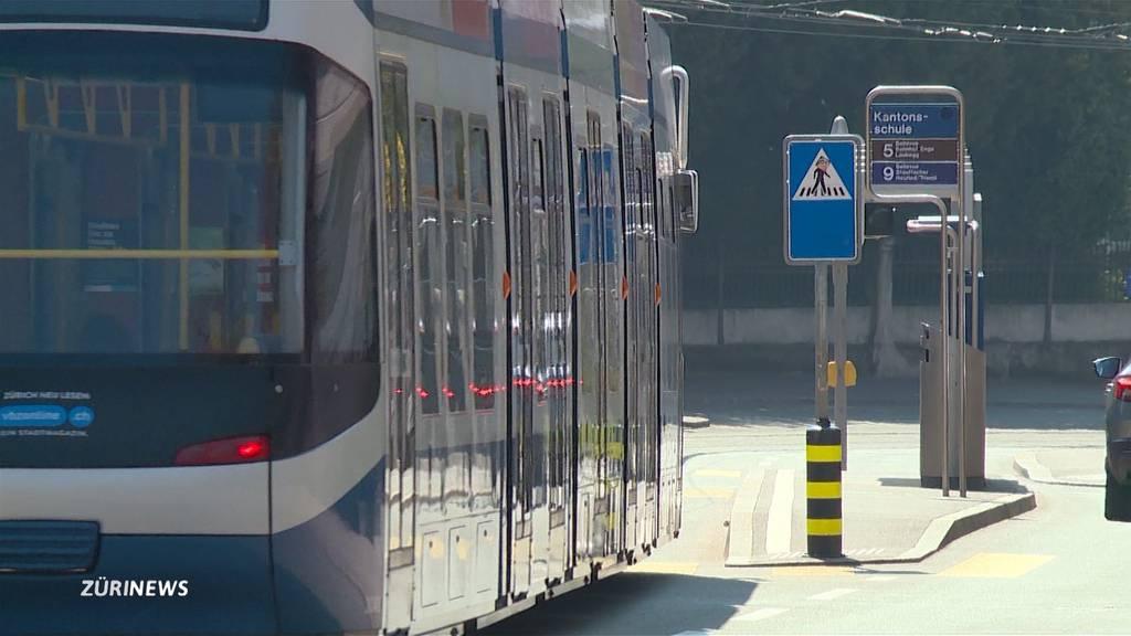 "VBZ lancieren das ""Corona-Tram"""
