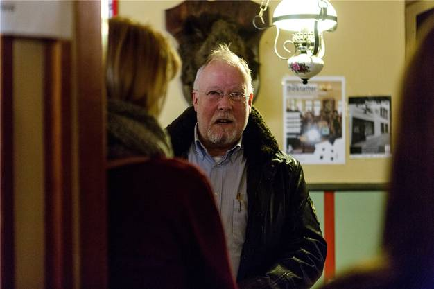 Auch Gemeindeammann Robert Müller hatte einen Gastauftritt im «Bestatter».