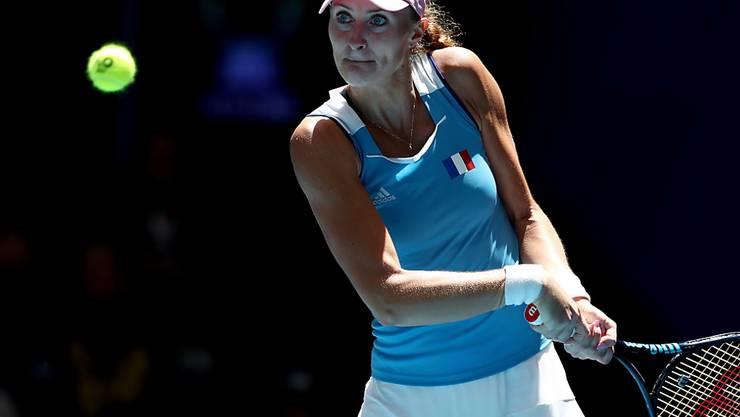Kristina Mladenovic führte die Französinnen in Perth zum dritten Titel im Fed Cup