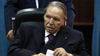 Der algerische Langzeitpräsident Abdelaziz Bouteflika tritt trotz seiner schwer angeschlagenen Gesundheit erneut zur Wiederwahl an. (Archivbild)