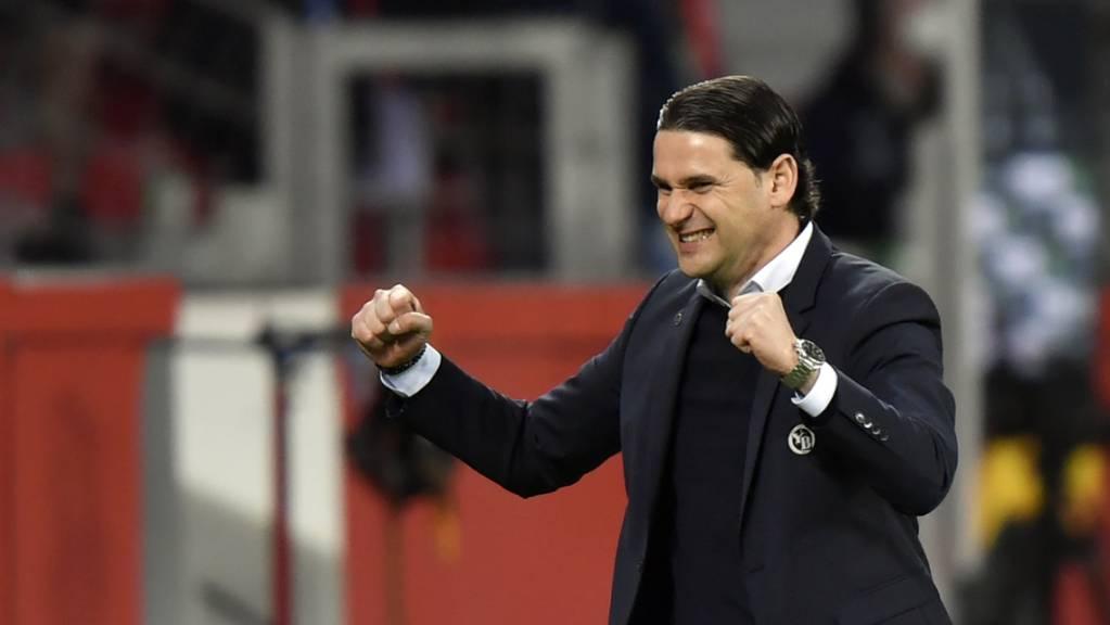 Nach der Freude wartet schon bald eine neue europäische Herausforderung auf Trainer Gerardo Seoane und seine Young Boys.