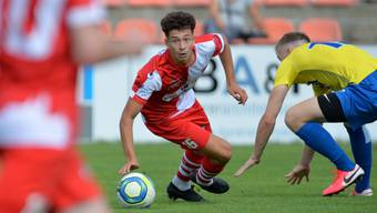 Jano Loosli bestritt zwei der drei bisherigen Meisterschaftsspiele des FC Solothurn über die volle Distanz.