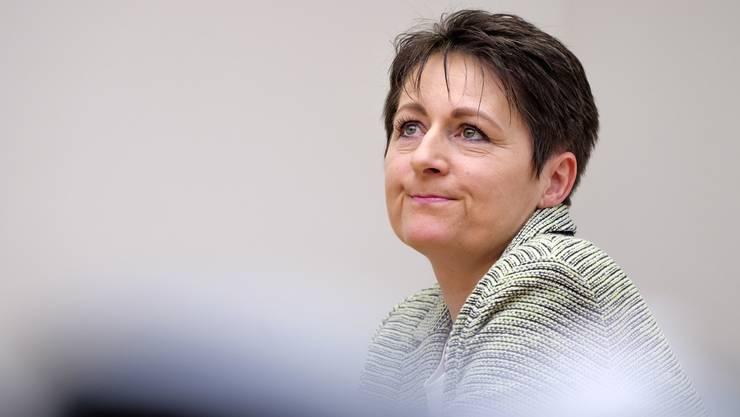 Die Praesidentin des Bezirksgericht Brugg kandidiert als SVP-Mitglied fuer die Regierungsratswahlen im Aargau 2016. Fotografiert in Brugg.