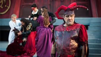 Bariton Anooshah Golesorkhi singt in Brugg-Windisch die Titelpartie des «Rigoletto»