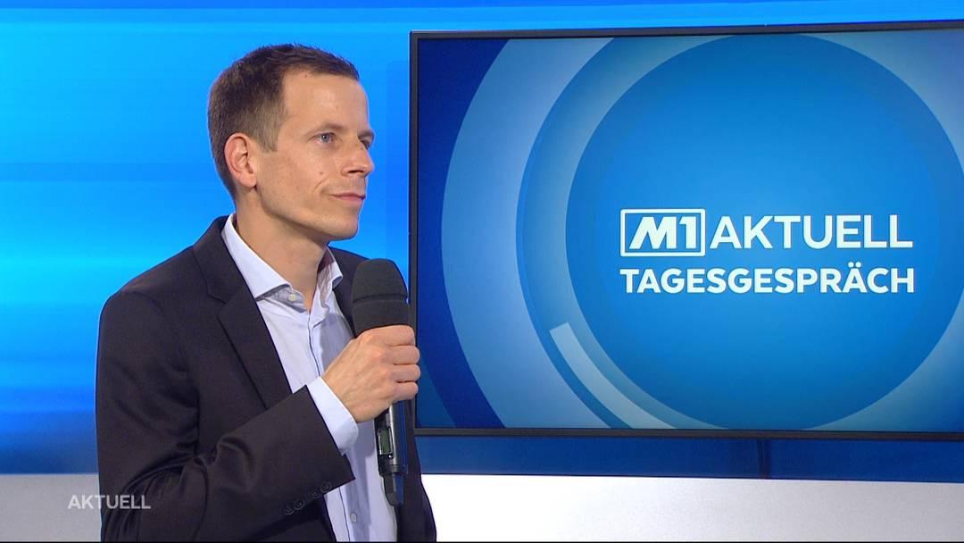 Matthias Flück über die Ausgrabungsfunde in Baden