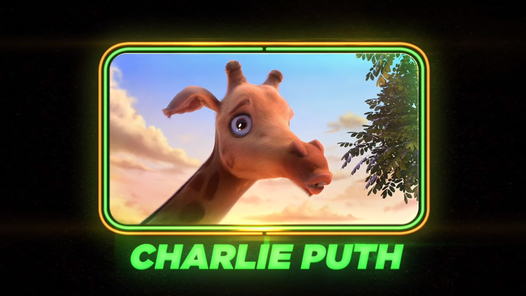 Charlie Puth als Giraffe