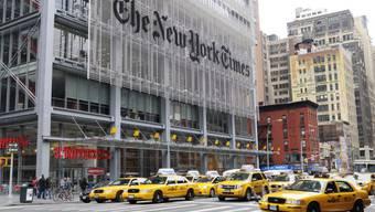 Wurde über die Server der Melbourne IT gehackt: «New York Times». Foto: Istock