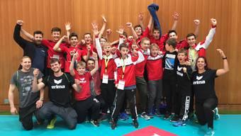 Die U17 von Laufenburg-Kaisten, die bereits Aargauer Meister und Interregio-Cupsieger geworden ist, kann sich nun auch noch Schweizer Meister nennen.