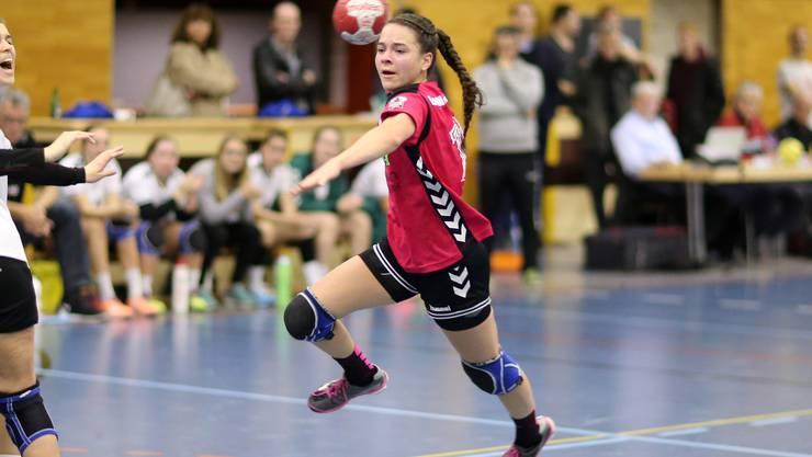 Aline Mathys erzielte sechs Treffer aus sechs Versuchen.