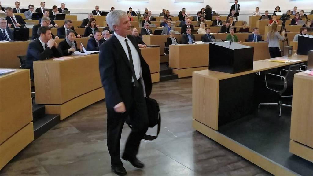 Grossratspräsidenten-Feier Bernhard Scholl
