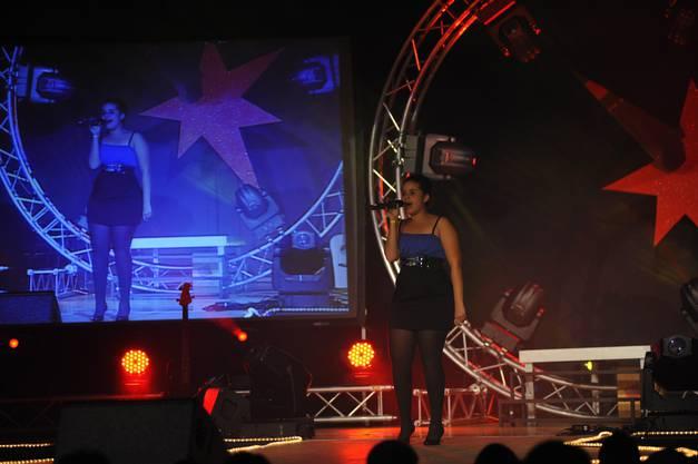 Eine der Gewinnerinnen des Abends Amina Mwinyi mit «Ain't no other Man» von Christina Aguilera