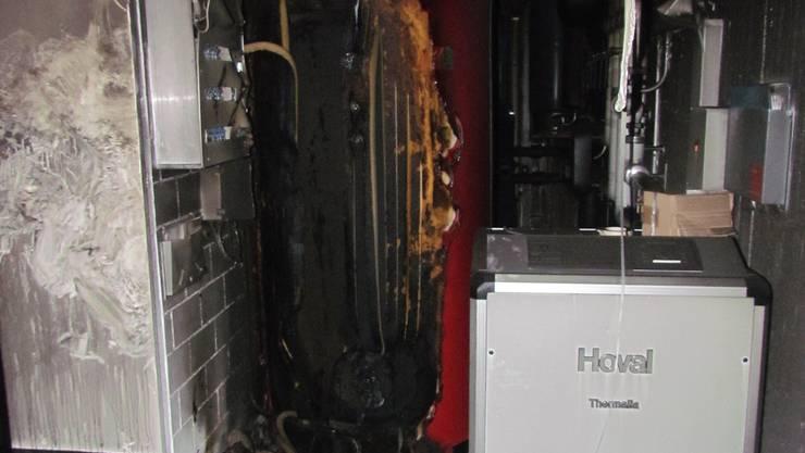 Abtwil: Starke Rauchentwicklung im Technikraum eines Wohnhauses