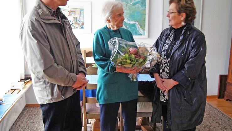 Fritz Richner, Marlies Birri, Elisabeth Salchli