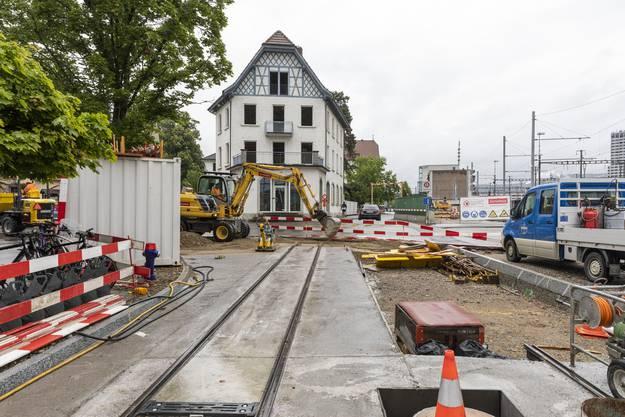 Der Abriss des Boeniger-Hauses erfolgt aus Sicherheitsgründen bei Nachtarbeiten vom 22. auf den 23. Juni.