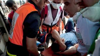 Kopie von Blutige Zusammenstösse im Gazastreifen