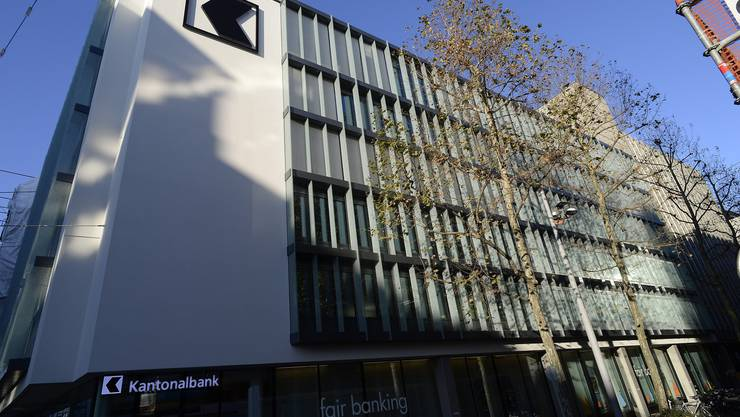 Sitz der Basler Kantonalbank in Basel.