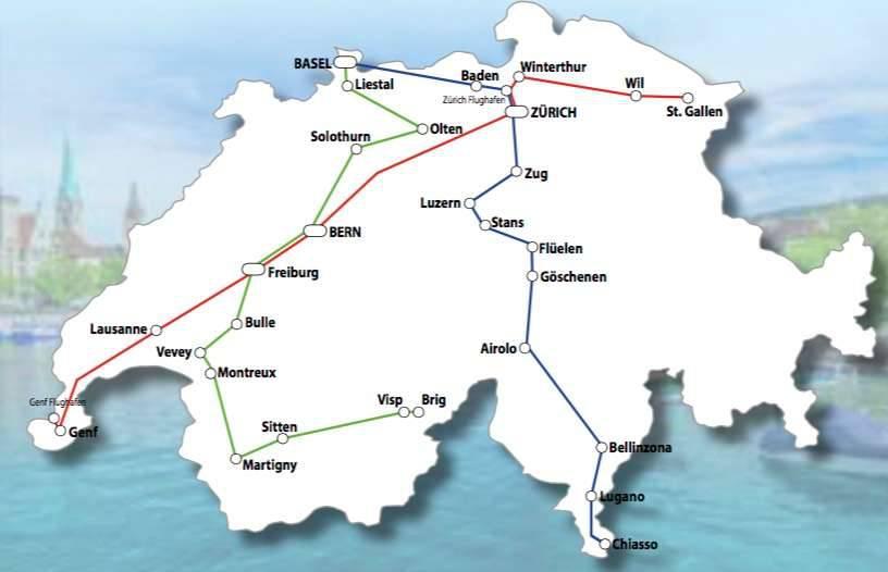 Streckennetz Fernbusse Domo Reisen