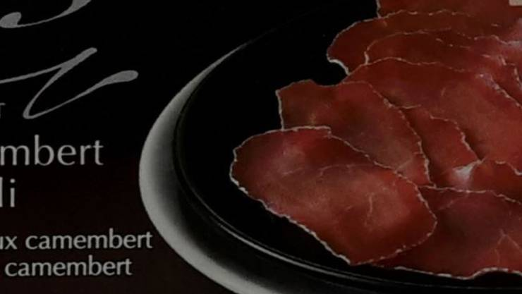 Bei Aldi Suisse wurden die Camembert-Möckli in dieser Packung verkauft (Bild: BLV).