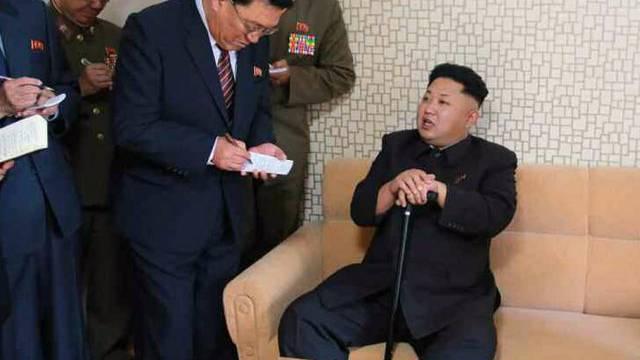 Nordkoreas Machthaber Kim Jong Un (Archiv)