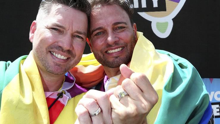 Bevor die ersten gleichgeschlechtlichen Paare in Australien heiraten können, muss das Parlament ein entsprechendes Gesetz verabschieden.