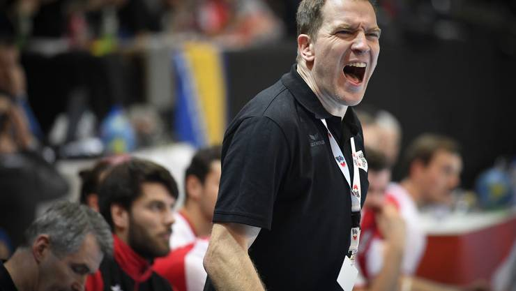 Hat an der EM grosse Ziele: Nationaltrainer Michael Suter