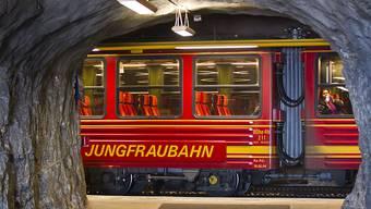 Die Jungfraubahn hat erneut einen Rekordgewinn erzielt und erhöht die Dividende. (Archiv)