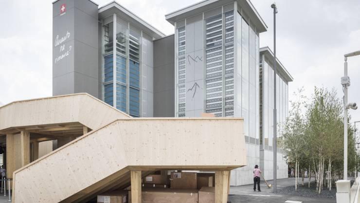 Mehr als eine Million Menschen haben den Schweizer Pavillon an der Expo in Mailand besucht (Archiv).