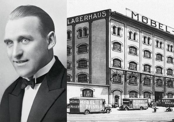 1916 übernimmt der 25-jährige Sohn Fritz Gottlieb Pfister das Geschäft und setzt neue Impulse