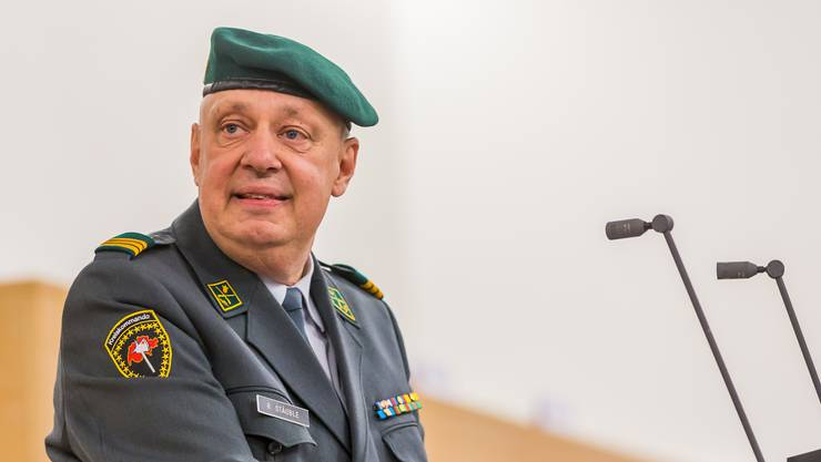 Oberst Rolf Stäuble ist nun auch am Coronavirus erkrankt.