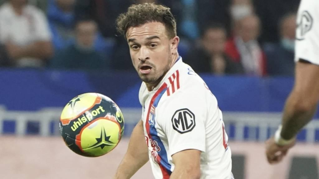 Xherdan Shaqiri erzielte sein erstes Tor in der Ligue 1