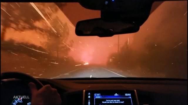 Waldbrand in Kalifornien zerstört Heimat von Prominenten