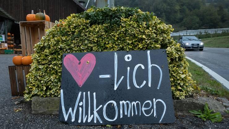 Herzlich Willkommen beim Hofladen Thalmann in Trimbach.