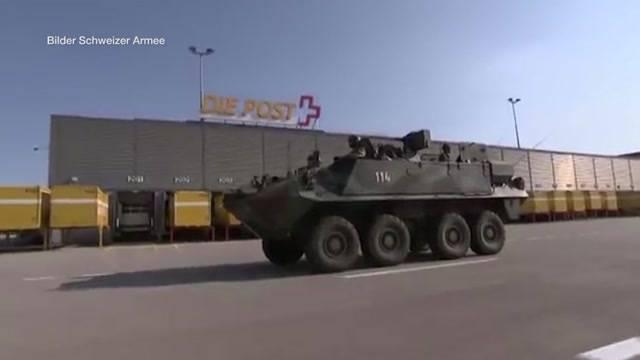 Oberwil-Lieli: Fehlschuss aus Schützenpanzer?