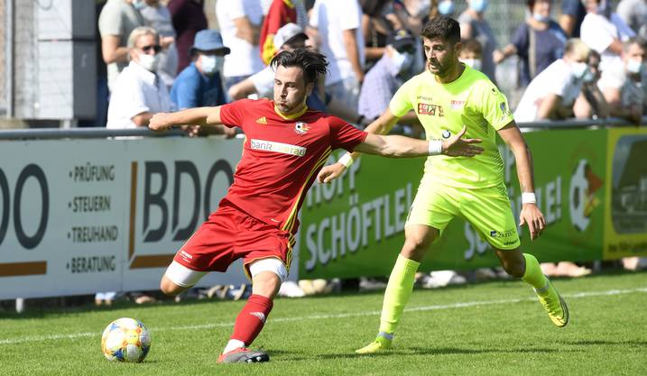 Schweizer Cup, 2. Runde: Schöftland - Solothurn 1:5.